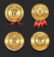VIP-etikettsamling vektor