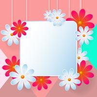 Blume Vektor Hintergrund