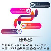 Infografiken-Designvorlage