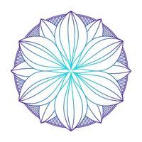 Mandala Ornament Vektorbild vektor