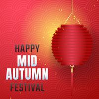 Mid Autumn Festival Vector bakgrund