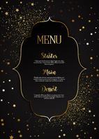 Elegant meny design vektor