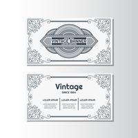 Vintage flygblad bakgrund Design mall