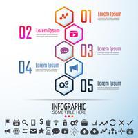 Infographics Design Mall vektor