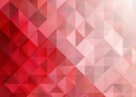 Niedriger abstrakter Polyhintergrund mit Halbtonpunkten