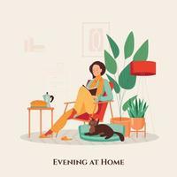 gemütliches Zuhause Illustration vektor
