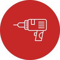 Vektor Drill ikon