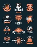 Retro Fitness Embleme