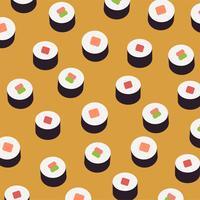 Sushi-Hintergrund vektor