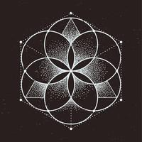 Heilige Geometrie vektor