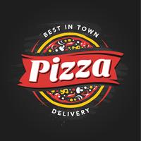 pizzeria vektor emblem