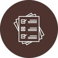 Vektor Checkliste Symbol