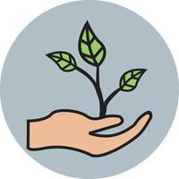 Geschäftswachstum Linie gefüllt Symbol