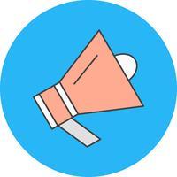 Vektor-Lautsprecher-Symbol