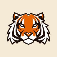 Tiger-Vektor-Maskottchen