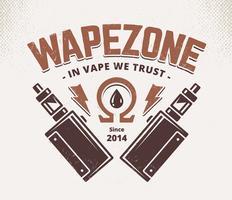 vape shop emblem