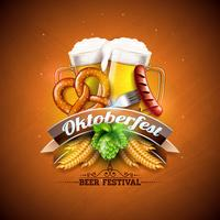 Oktoberfest Banner Illustration