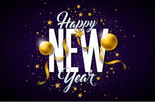 Frohes neues Jahr Illustration