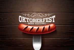 Oktoberfestillustrationen vektor