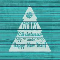 Hälsningskort till jul. vektor