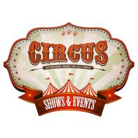 Carnival Circus Banner Med Big Top