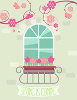 Grußkarte Frühling