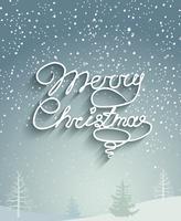 Frohe Weihnachten Hintergrund. vektor