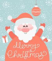 God jul från Santa.