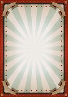 Vintage Blank Circus Poster Zeichen