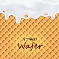 Seamless wafer och droppande mjölk repeterbar