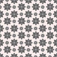 Mandala Blumen Vektor Muster Hintergrund