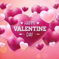 Lycklig Alla hjärtans dagdesign