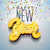 Gott nytt år illustration