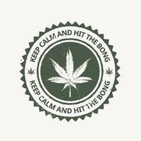 Cannabis-Emblem