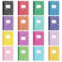 Zusammensetzung Notebooks Clipart vektor