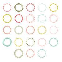 handstygna cirkelramar