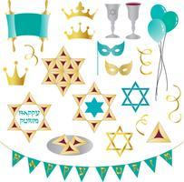 Purim-Clipart