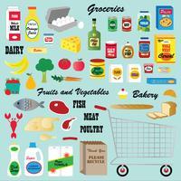 Lebensmittelgeschäft Clipart