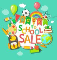 Tillbaka till skolan försäljning bakgrund.