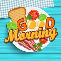Guten Morgen vektor