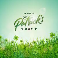 St. Patricks Day Illustration vektor