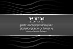 Halbton schwarz-weiß abstrakter Texthintergrund mit Glanzlicht vektor