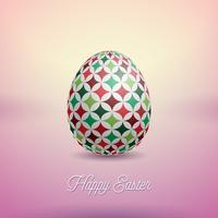 Illustration av lycklig påskferie