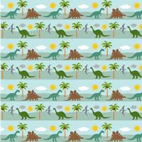 dinosaurie rand bakgrundsmönster