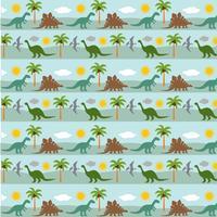 Dinosaurier-Streifen-Hintergrundmuster vektor