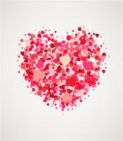 Glad hjärtans dag hälsningskort