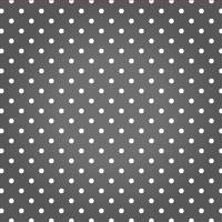 Grauer Hintergrund mit weißen Punkten. vektor