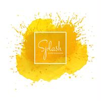 Splash färgstark akvarell bakgrund