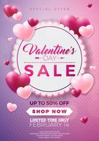 Alla hjärtans dag försäljning design