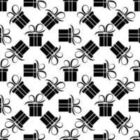 Geschenkbox Muster vektor